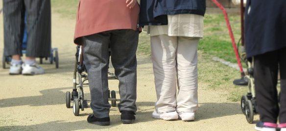高齢者介護散歩QOL秋田歩行器