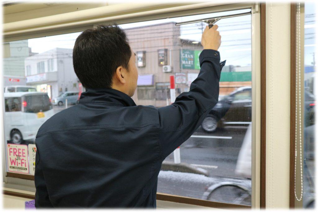 インフルエンザ対策秋田介護